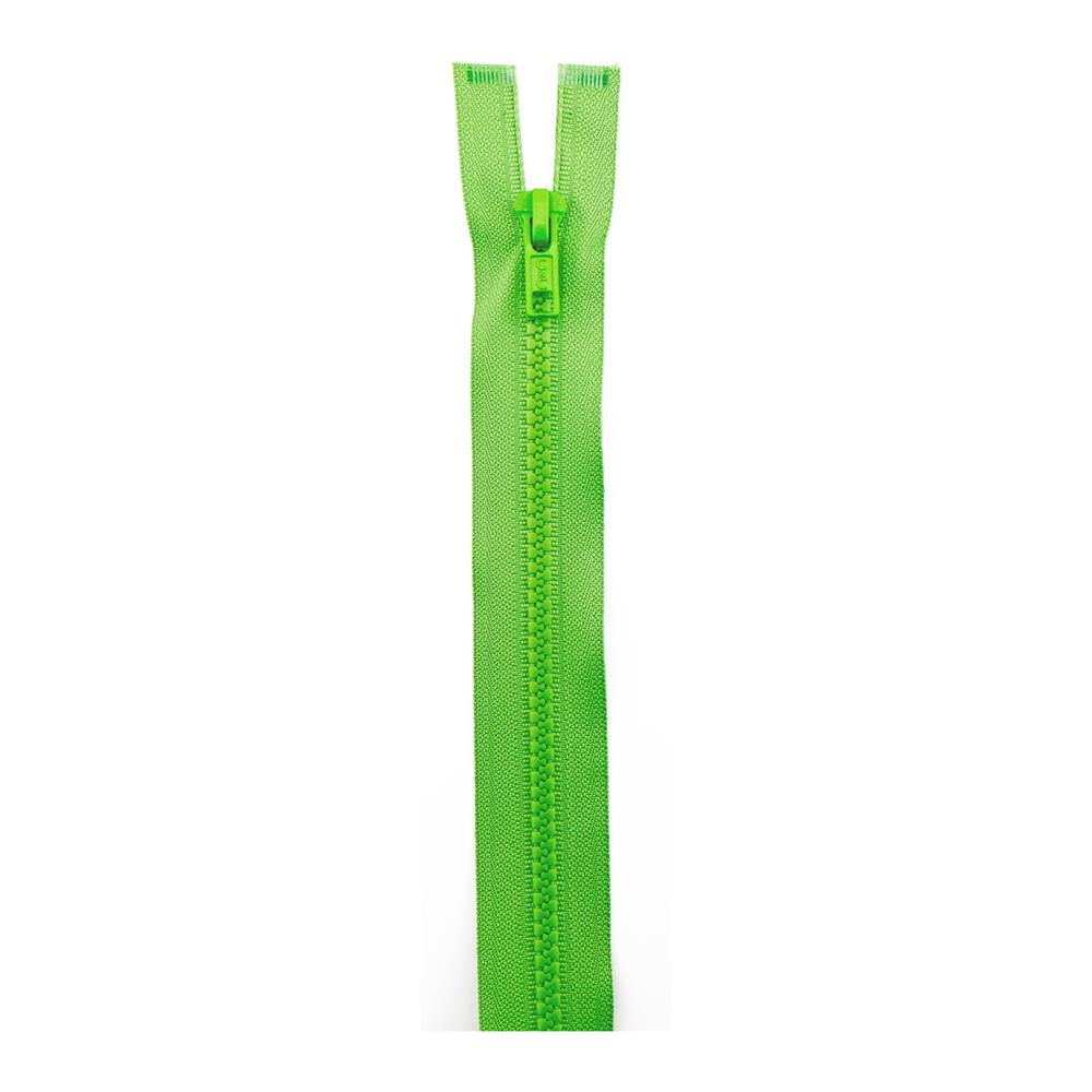"Sport Separating Zipper 24"" Lime"