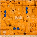 Mod Geek Eyeglasses Retro Orange