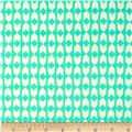 Cotton & Steel Moonlit Arrow Geo Teal