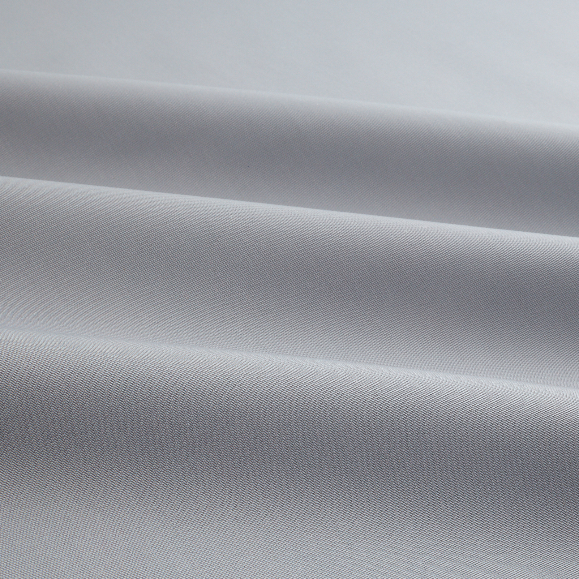 Organic Eco Twill Silver Fabric by Carr in USA