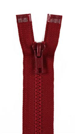 "Sport Separating Zipper 18"" Barberry Red"