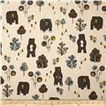 Premier Prints Honey Bear Cambridge/Natural