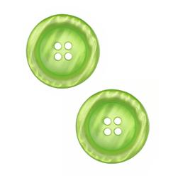 "Riley Blake Sew Together 2"" Pearl Button Lime"