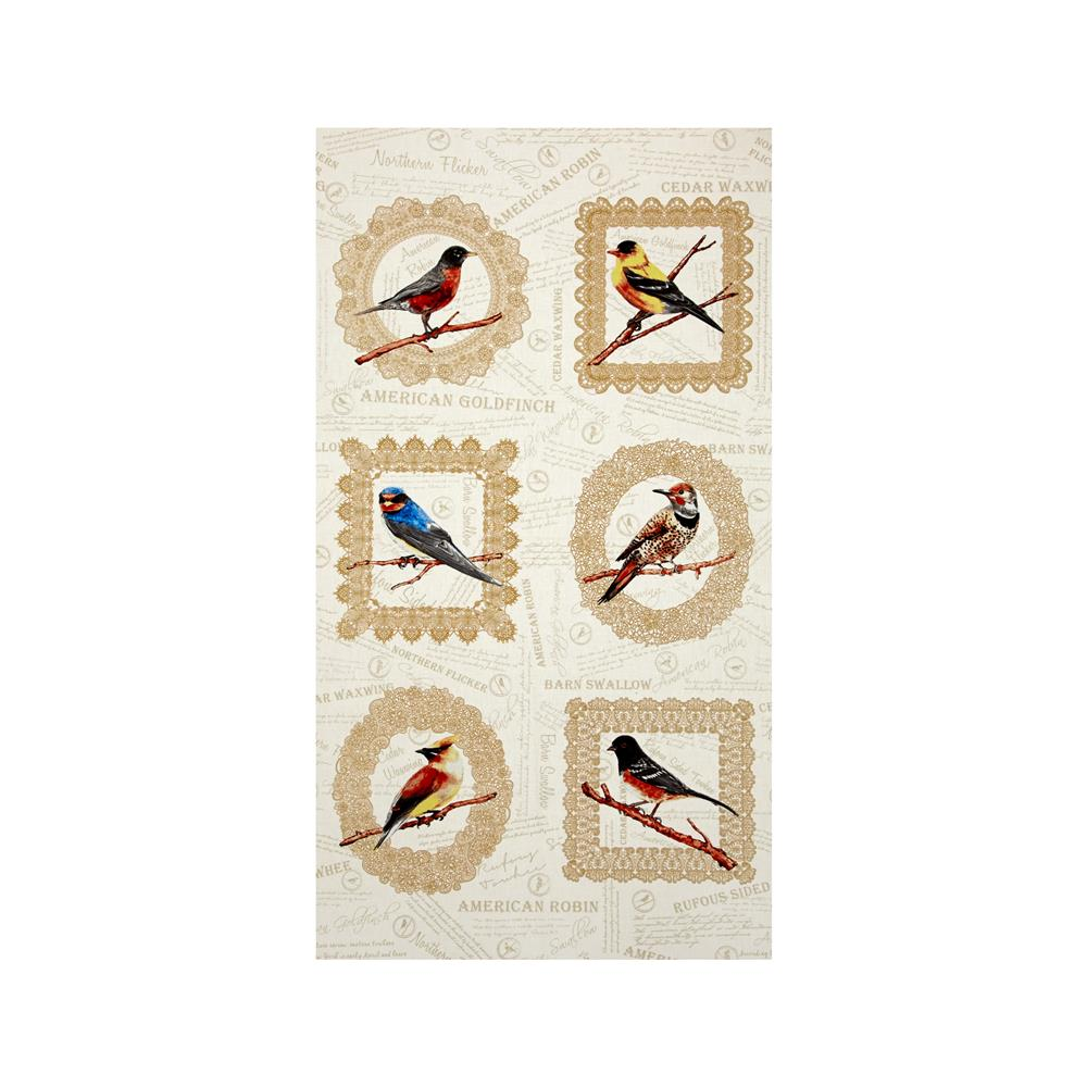 "Paloma Bird 24"" Panel"