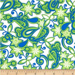 Kanvas Lilified Mini Bella Royal/Green