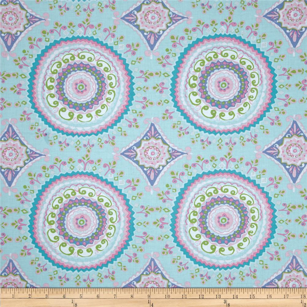 Haute Girls Large Circles Aqua
