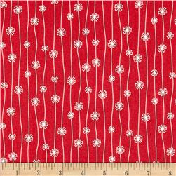 Meadow Daisy Chain Red