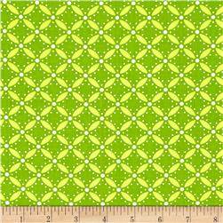 Moda Simply Style Eyelet Lime Green