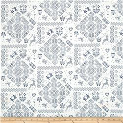 Moda Nordic Stitches Knit Sampler Bla-Sno