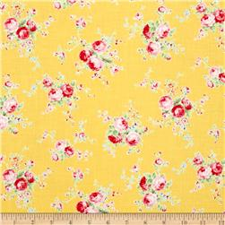 Lecien Flower Sugar Floral Trail Yellow