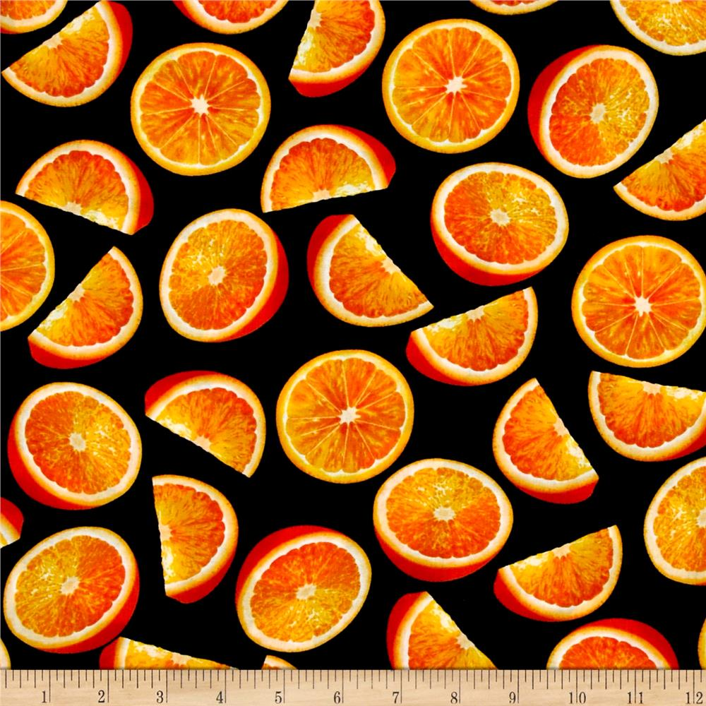 Fresh Squeezed Orange Black