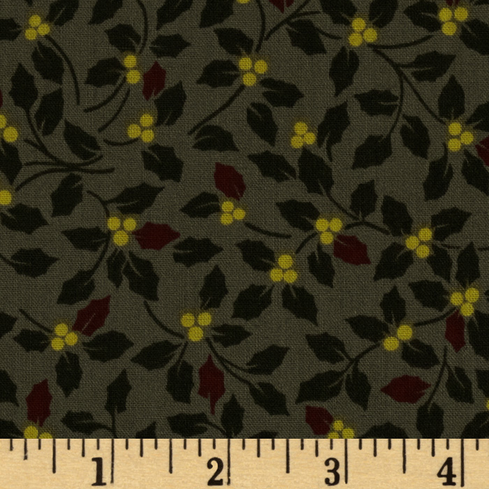Montana Modern Holly Taupe Fabric
