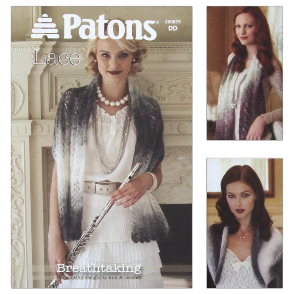 Patons Lace Book Breathtaking