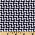 Michael Miller Tiny Houndstooth Navy