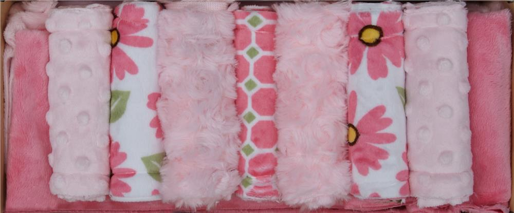 Minky Cuddle Quilt Kit Wee One All Girl