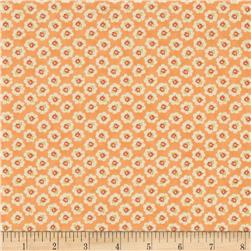 Moda Coney Island Cotton Blossoms Orange Sherbet