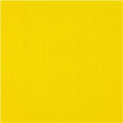 Fleece Backed Tablecloth Yellow Fabric