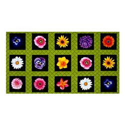 "Kanvas Bloom With A View Flower Box 23.5"" PanelGreen"