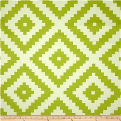 Joel Dewberry Flora Home Decor Sateen Diamonte Green