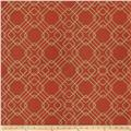 Fabricut Massa Sparkle Faux Silk Rust