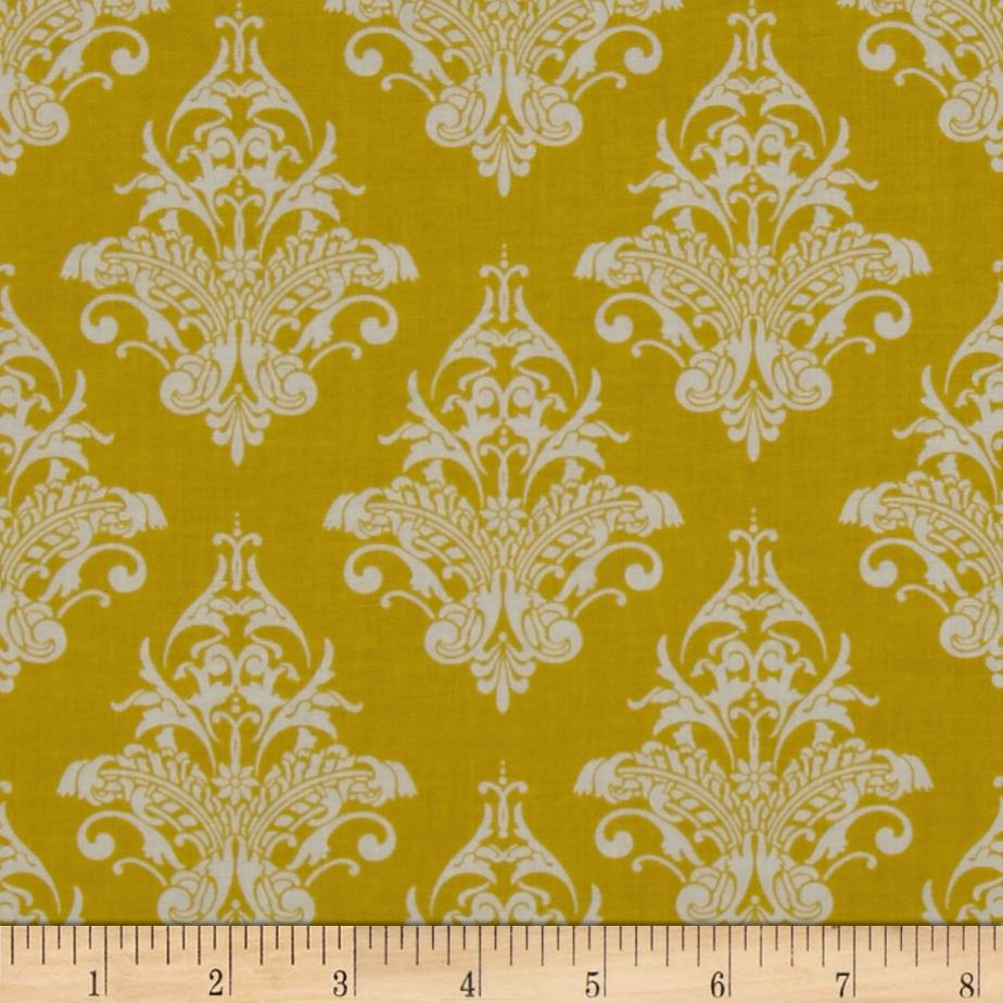 Riley Blake Remember Damask Yellow