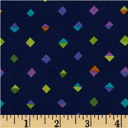 Michael Miller Melodies Split Diamonds Navy