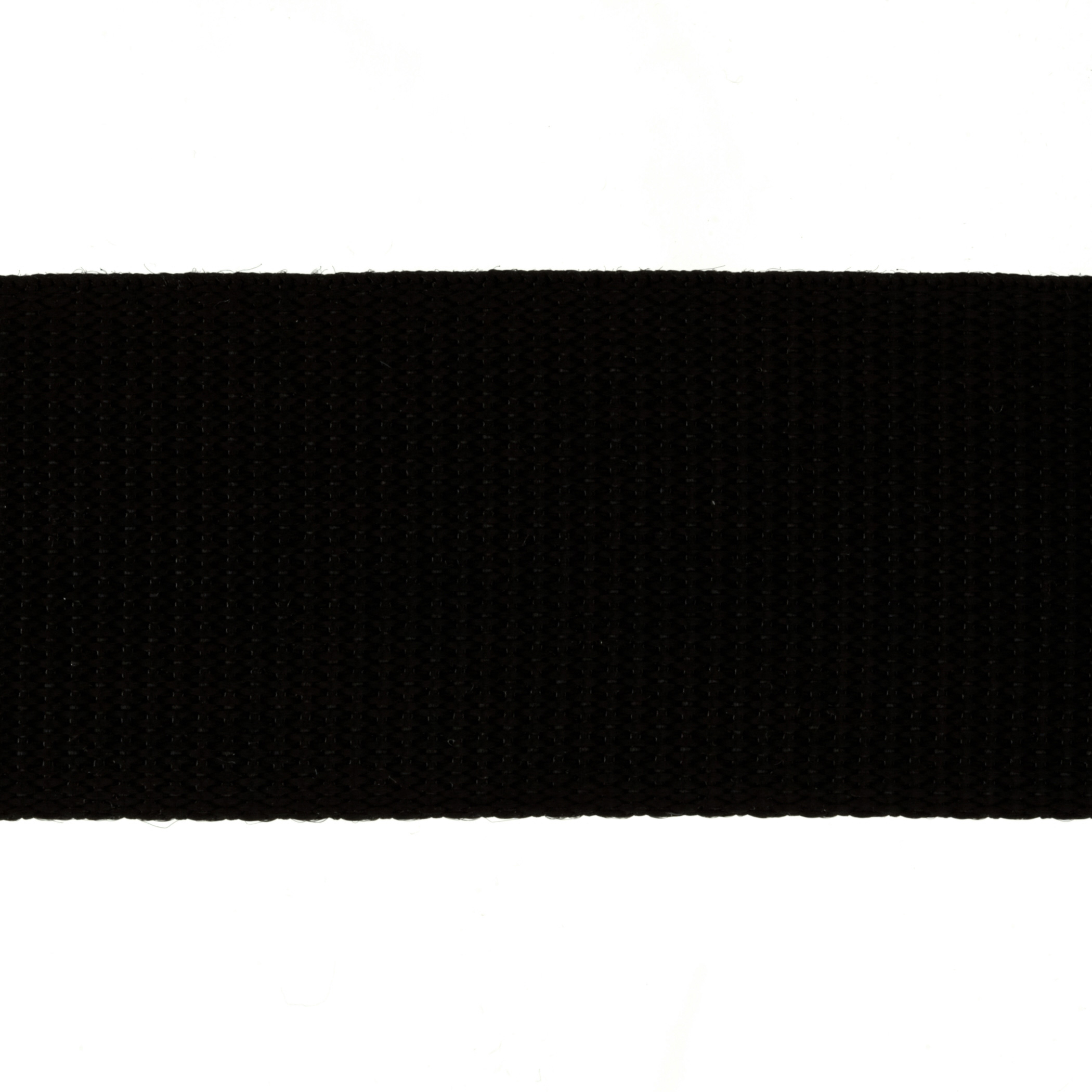 2'' Polypropylene Webbing Black - By the Yard