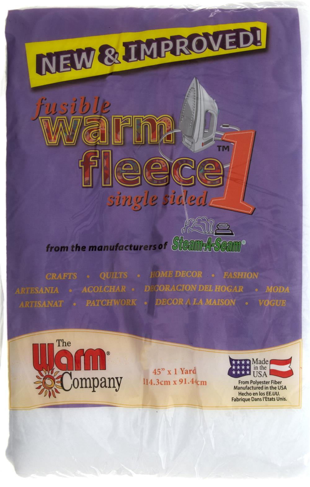 Warm Fleece Fusible 45