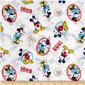 Disney Mickey & Minnie Vintage Mickey and Minnie the Ideal Couple White