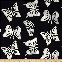 Bali Batik Butterfly Black/White