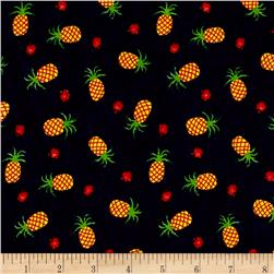 Children's Jersey Knit Pineapple Navy