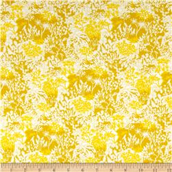 Liberty of London Dufour Jersey Knit Paper Garden Daffodil