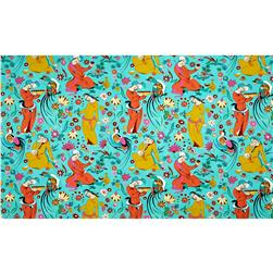 Amy Butler Eternal Sunshine Home Decor Sateen Midday Social Seagull