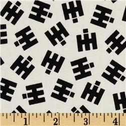 Remember When IH Logo Cream/Black Fabric