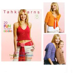 Tahki Cotton Classic Spring/Summer 2005 Knitting Book