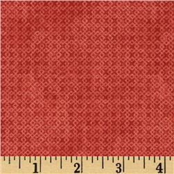 Essentials Criss-Cross Texture Light Red