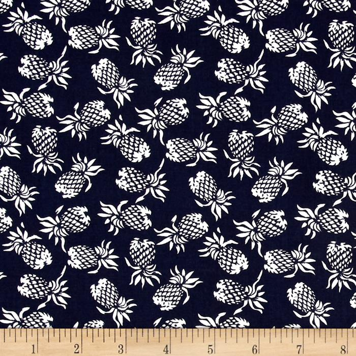 Hoffman Mini Pineapples Navy