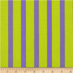 Let's Play Dolls Stripes Purple/Lime