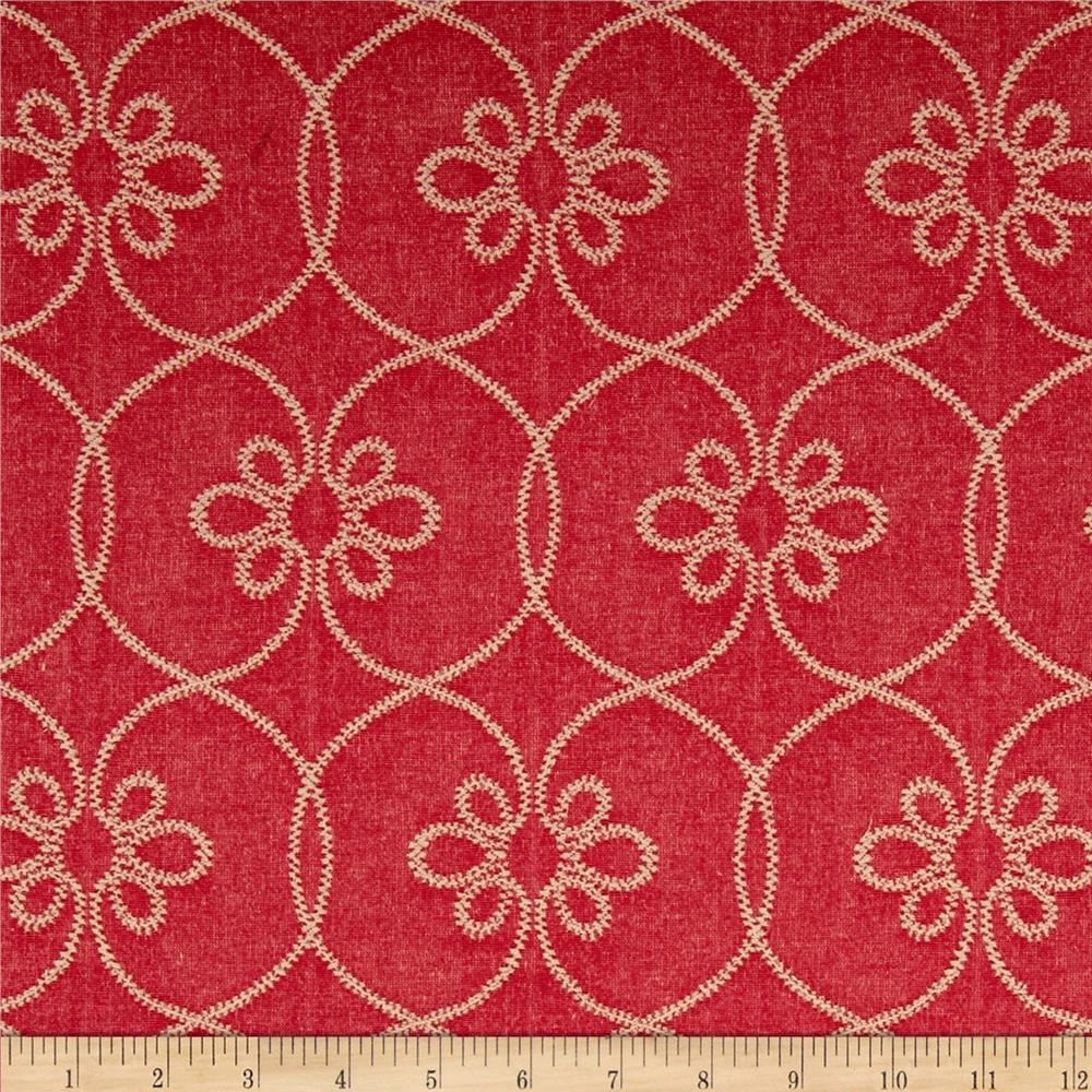 Waverly turkish screen bejeweled discount designer for Decorator fabric