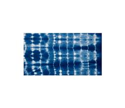 Indian Batik Wind Cave Tie-Dye Stripe Navy/White