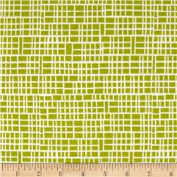 Moda Simply Colorful II Grid Chartreuse