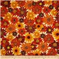 Kanvas Autumn Splendor Metallic Floral Bounty Cream