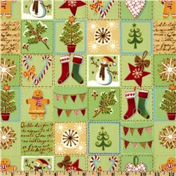 Alpine Holiday Sampler Green