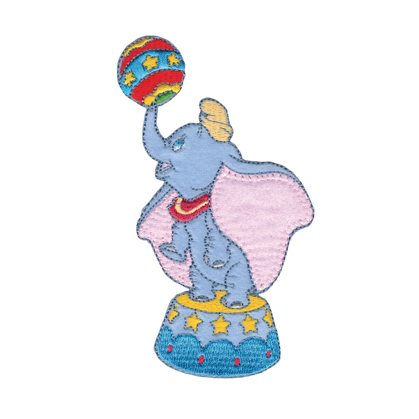 Disney Dumbo With Ball Iron On Applique by Notions Marketing in USA