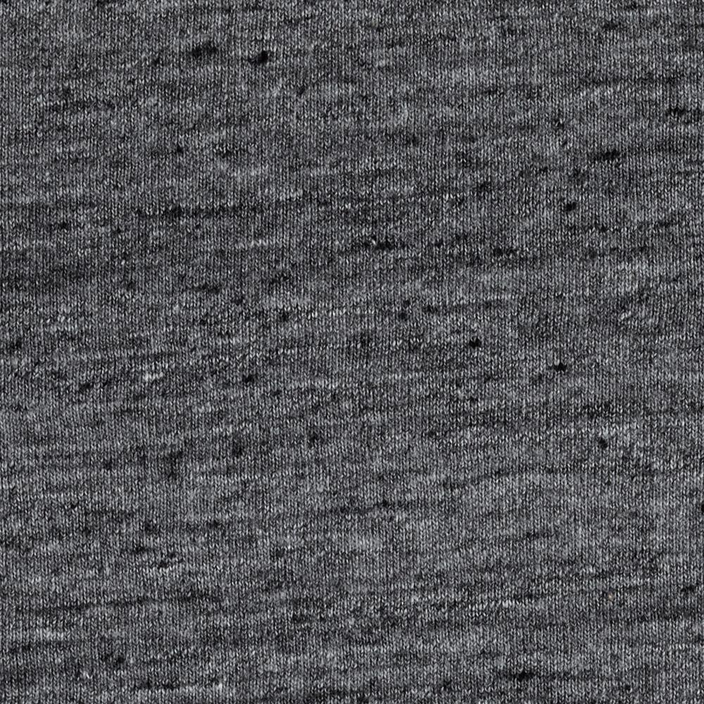 Designer Heather Jersey Knit Dark Grey