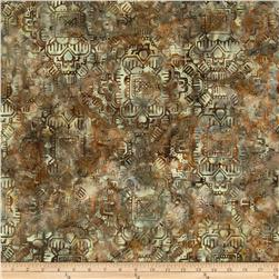 Bali Batik Handpaints Tapestry Tan