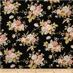 World of Romance Floral Black