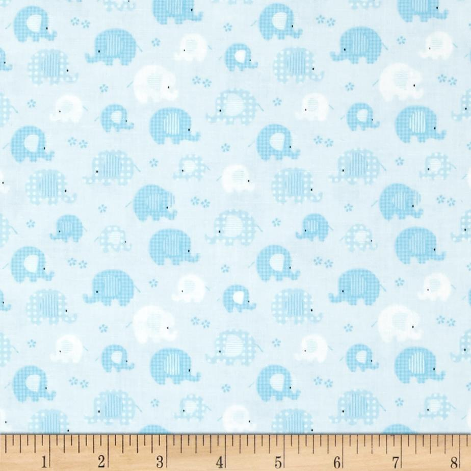 Bobo baby bobo baby lt blue discount designer fabric for Cheap baby fabric