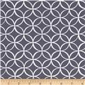 Michael Miller Tile Pile Grey