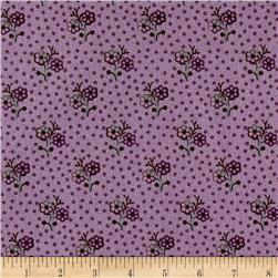 Cozies Flannel Flower Purple